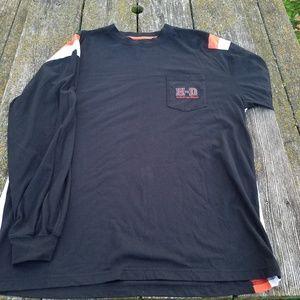 Harley-Davidson Long Sleeve Pocket t XL